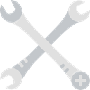 Edit Tools, Improvement, Construction And Tools, Wrench, garage, Tools And Utensils, Home Repair Icon