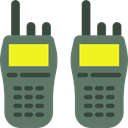 Communication, Communications, walkie talkie, police, frequency, technology DimGray icon