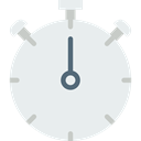 timer, interface, Chronometer, Wait, Tools And Utensils, Time And Date, time, stopwatch Lavender icon