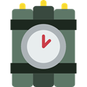 weapons, Detonation, Terrorism, Bomb, explosive, miscellaneous, Dynamite DimGray icon