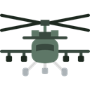 Helicopter, Chopper, Aircraft, transportation, transport, flight Black icon