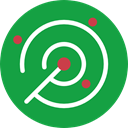 Positional, radar, place, Area, technology, electronics SeaGreen icon