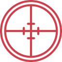 sniper, weapons, Seo And Web, Aim, Target, shooting Icon