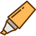 Edit Tools, underline, Highlighter, permanent, Tools And Utensils, Edit, Drawing, Draw SandyBrown icon