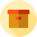 Files And Folders, Archive, Box, storage, file storage, Data Storage, Storage Box Moccasin icon