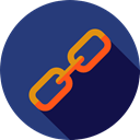 Multimedia, Connection, Link, Chain, linked, ui, Tools And Utensils DarkSlateBlue icon