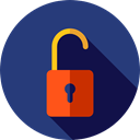 Lock, secure, security, padlock, Unlocked, Tools And Utensils DarkSlateBlue icon