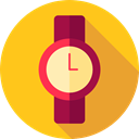 fashion, wristwatch, Elegant, Time And Date, time, watch, miscellaneous, technology Gold icon
