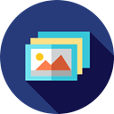 image, photo, picture, photography, interface, Pictures, landscape, Files And Folders DarkSlateBlue icon