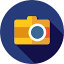 picture, interface, digital, technology, electronics, photograph, photo camera Icon