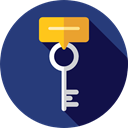 Key, password, security, Access, pass, Tools And Utensils, Door Key, Passkey Icon