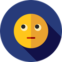 Confused, emoticons, Emoji, feelings, Smileys DarkSlateBlue icon