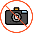 forbidden, prohibition, Not Allowed, Signaling, No Photo Black icon