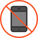 phone, Signaling, No Phone, forbidden, mobile phone, Prohibited, prohibition Black icon