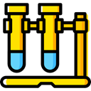 chemical, Test Tube, Test Tubes, science, education, Chemistry Black icon