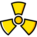 education, signs, Signaling, Biohazard, Toxic, danger, hazard Black icon