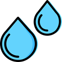 drop, water, nature, Teardrop, weather, Rain, education, raindrop, drops LightSkyBlue icon