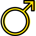 Man, male, education, Gender, mars, signs, Masculine, Shapes And Symbols Icon