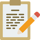 Note, Notebook, notepad, interface, education, writing, Tools And Utensils, Writing Tool WhiteSmoke icon