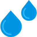 weather, Rain, education, drop, water, nature, Teardrop, raindrop, drops DodgerBlue icon