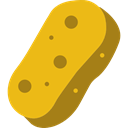 Wiping, Hygienic, Sponges, Beauty, cleaning, sponge, Tools And Utensils Goldenrod icon
