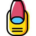 Beauty, fashion, manicure, Grooming, Beauty Salon Black icon
