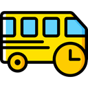transportation, transport, vehicle, Bus, Automobile, Public transport Icon