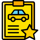 notepad, Car, repair, transportation, diagnostic, garage, Car Repair Gold icon