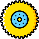 truck, transport, tractor, Tire, wheel, wheels, repair, transportation, drive Gold icon