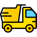 transport, vehicle, Automobile, dump truck, transportation, truck Icon