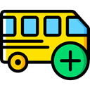transportation, transport, vehicle, Bus, Automobile, Public transport Black icon
