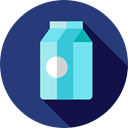Food And Restaurant, drink, food, breakfast, milk DarkSlateBlue icon