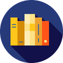 study, Literature, Books, Library, education, reading, Book MidnightBlue icon