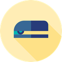 miscellaneous, stapler, Tools And Utensils, School Material, Office Material Moccasin icon