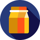 Lunch, Bag, dinner, meal, Fast food, paper bag, Bakery, Food And Restaurant, food DarkSlateBlue icon
