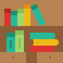 Book, Books, Library, education, reading, study, Literature Peru icon