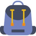 luggage, baggage, Bags, education, travel, Backpack LightSlateGray icon