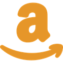 Amazon, logotype, Logos, online shop, Brands And Logotypes, Logo, social media, social network Goldenrod icon