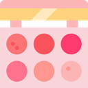 Eye Shadow, Grooming, Beauty Salon, Beauty, Lipstick, Makeup, fashion MistyRose icon