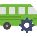 transportation, transport, vehicle, Bus, Automobile, Public transport YellowGreen icon