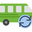 Automobile, Public transport, transportation, transport, vehicle, Bus YellowGreen icon
