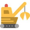 transport, Construction, cargo, loader, transportation, truck, trucking, Construction And Tools SandyBrown icon