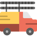 Automobile, Cargo Truck, transportation, truck, transport, vehicle, Delivery DimGray icon