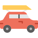 transport, vehicle, Automobile, Car, transportation Coral icon