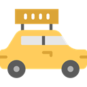 Car, transportation, transport, vehicle, taxi, Automobile SandyBrown icon