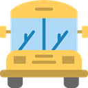 transportation, Public transport, transport, vehicle, school bus, Automobile SandyBrown icon