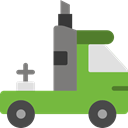 Lorry, transportation, truck, transport, Automobile, Delivery Truck, Cargo Truck YellowGreen icon