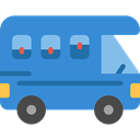 transportation, transport, vehicle, Camping, Holidays, summer, Trailer, Caravan SteelBlue icon
