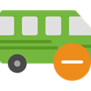 Public transport, transportation, transport, vehicle, Bus, Automobile YellowGreen icon