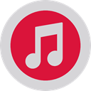 Logo, music store, Squares, Quaver, itunes, social media, social network, Brand LightGray icon